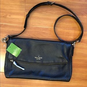 Kate Spade Black Cobble Hill Carson Crossbody
